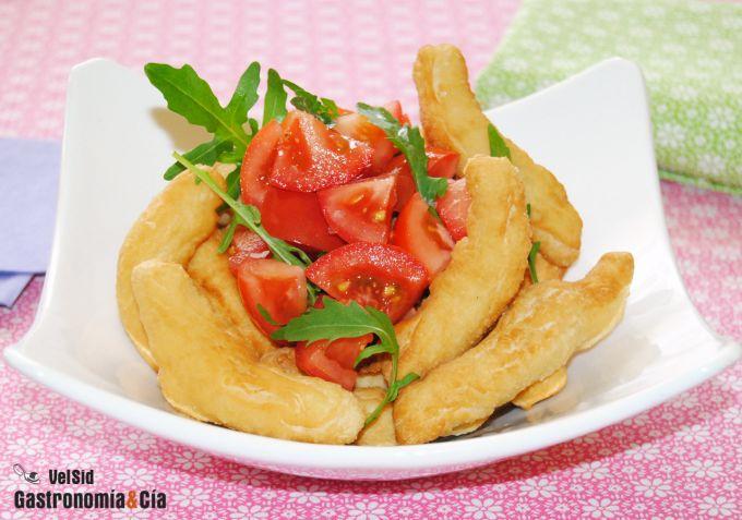 Receta de Angioletti fritti