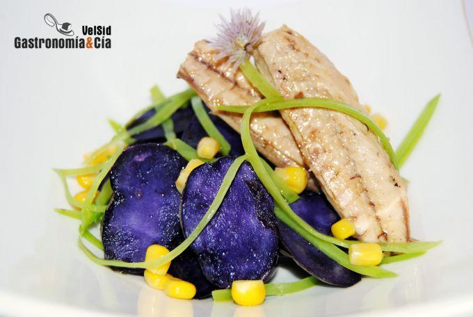 Ensalada de pescado y patata