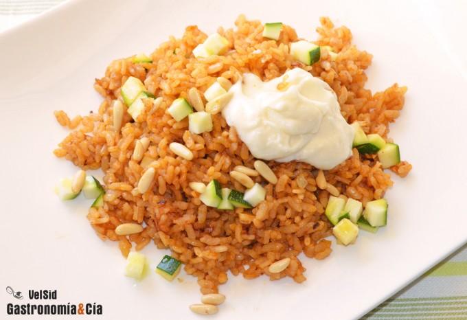 Receta de arroz para aprovechar un buen caldo de pescad