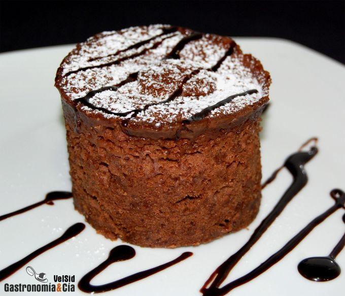 Bizcocho de chocolate en 5 minutos gastronom a c a - Bizcocho microondas 3 minutos ...