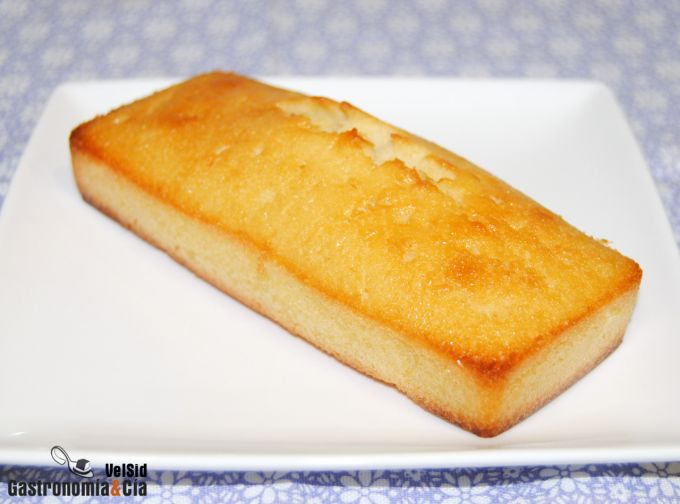 Receta de bizcocho de limón con nata