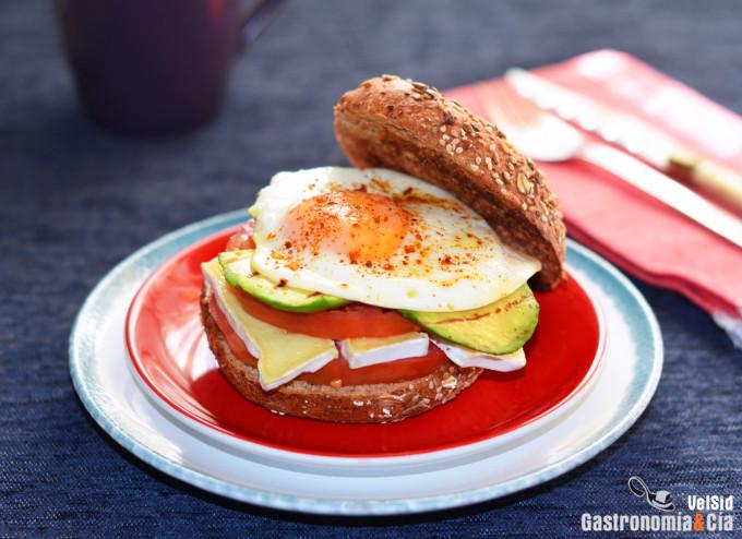 comida saludable con huevo