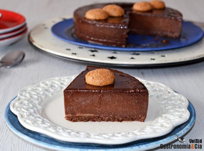 Bonet (pudin de amaretti y chocolate)