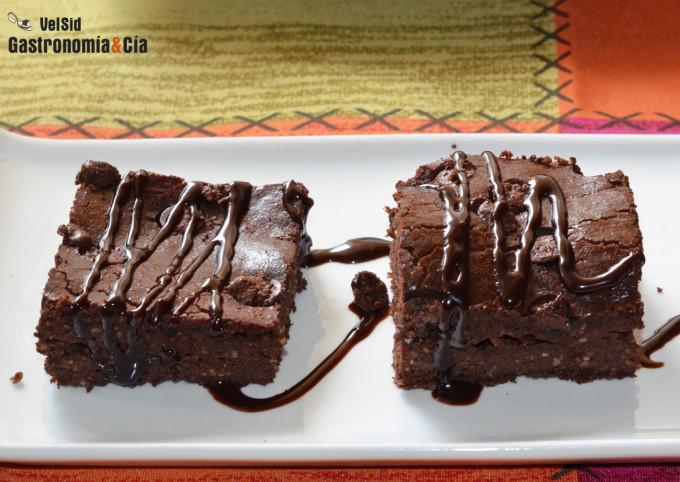 Brownie de chocolate y almendra