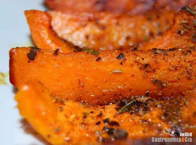 Receta de calabaza especiada - Pure de patatas y calabaza ...