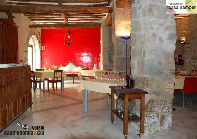 Restaurante Casa Samper, Salas Altas
