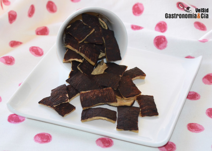 Chips de tofu y chocolate, un snack saludable y sin azú