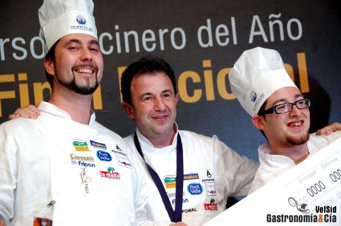 José Carlos Fuentes, Cocinero del Año 2010