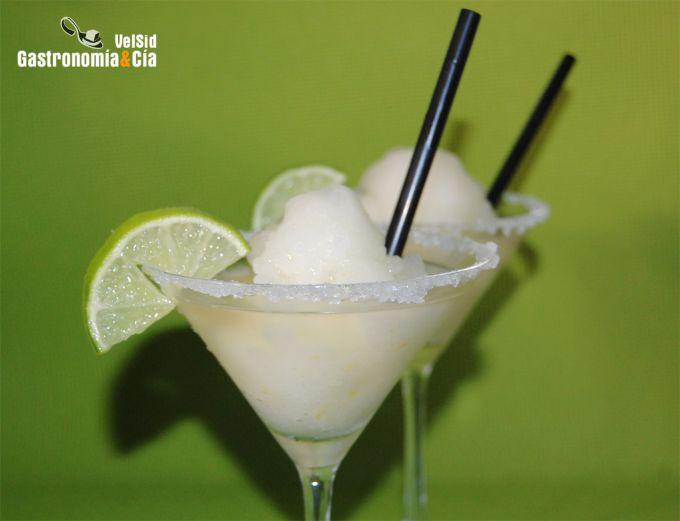 Cóctel Margarita granizado