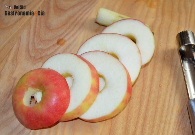 Cómo preparar una manzana para llevar en la fiambrera