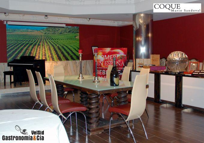 Bodega Restaurante Coque Sumiller Rafael Sandoval
