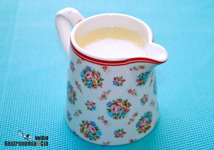 Cómo hacer crema inglesa