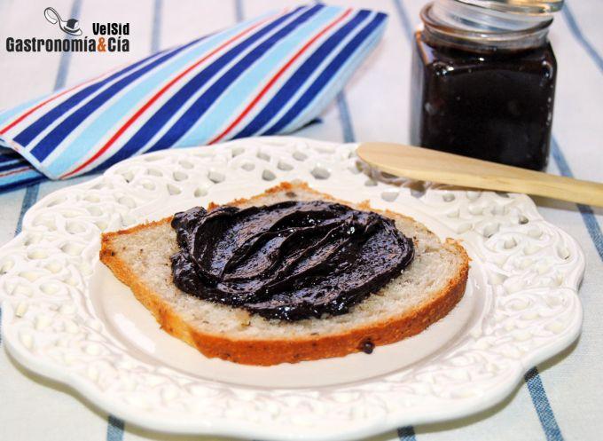 Crema de chocolate con aceite de oliva y sal