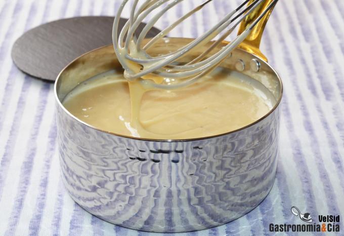 Cómo hacer crema pastelera sin azúcar