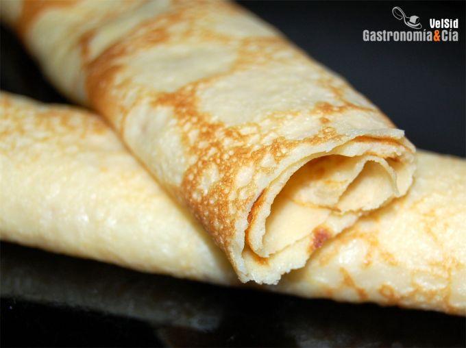 Receta De Crepes Gastronomía Cía