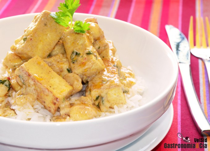 Curry de tofu