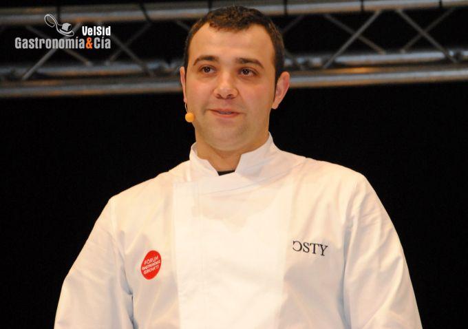 Dani Lechuga, Restaurante Caldeni
