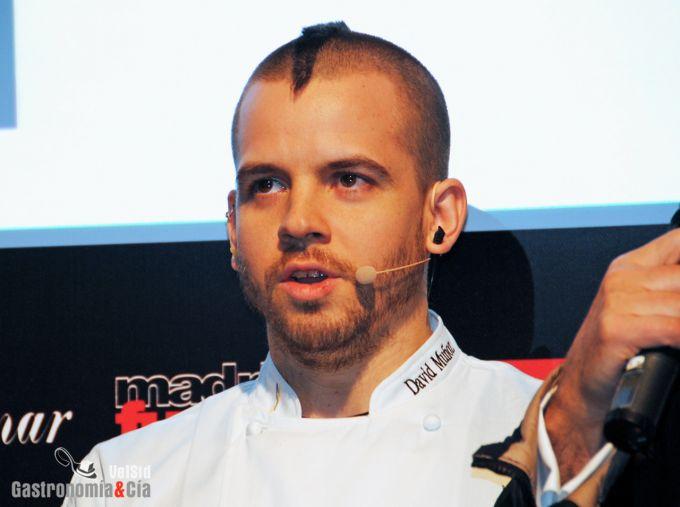 David Muñoz en Madrid Fusión 2013