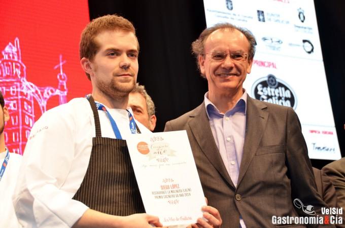 Diego López, Cocinero del Año de Galicia 2014