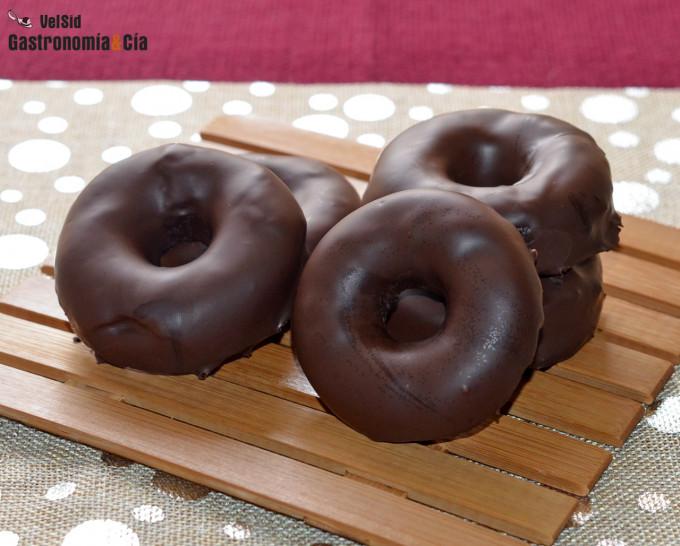 'Donetes' de chocolate saludables y deliciosos