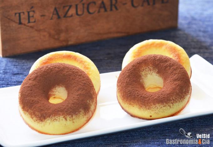 Donuts saludables con harina de arroz