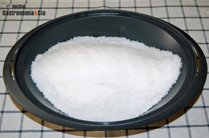 Receta de Dorada a la sal con Thermomix