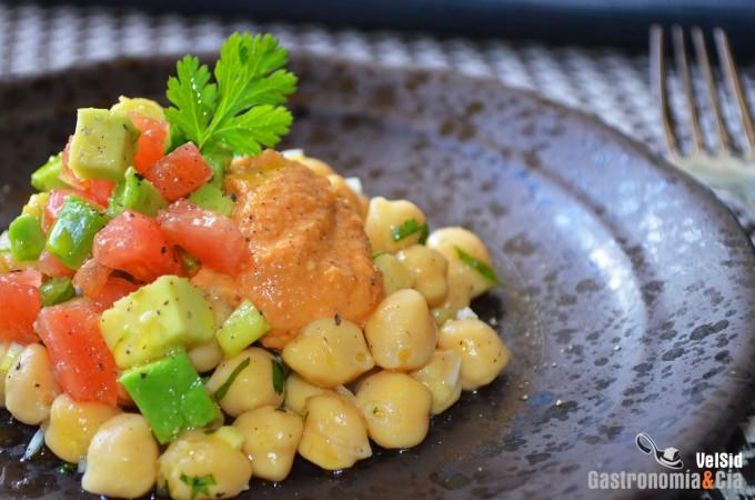 Recetas de ensalada con legumbres