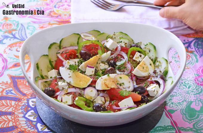 Salade grecque (Horiatiki Salata)