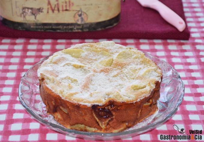 Flamusse Bourguignonne Una Deliciosa Tarta De Manzana Tradicional Francesa