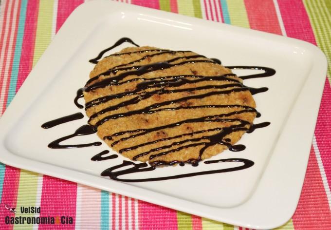 Cómo hacer una galleta en el microondas