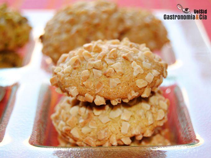 Galletas de almendra y pistacho