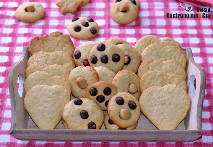 Galletas de mantequilla, una receta rica y fácil que pu