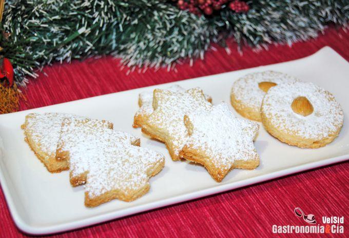 Galletas de almendra de Navidad