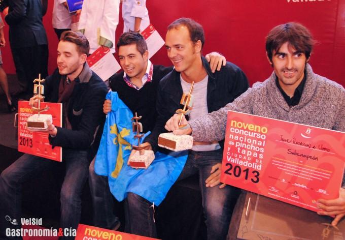 Ganadores del Concurso Nacional de Pinchos y Tapas Ciud