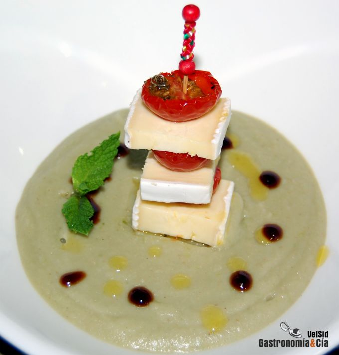 Gazpacho de berenjenas