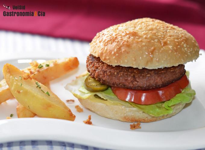 Beyond Burger, la hamburguesa vegetal que imita a la ca