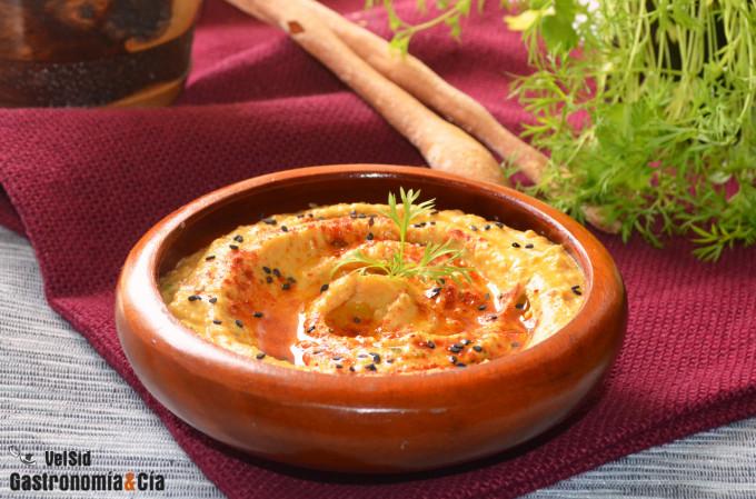 Hummus de boniato