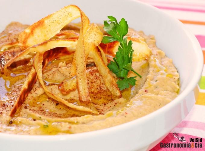 Hummus de chirivía