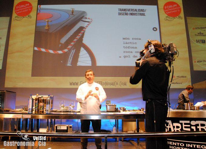 Joan Roca en el Fórum Santiago 2012