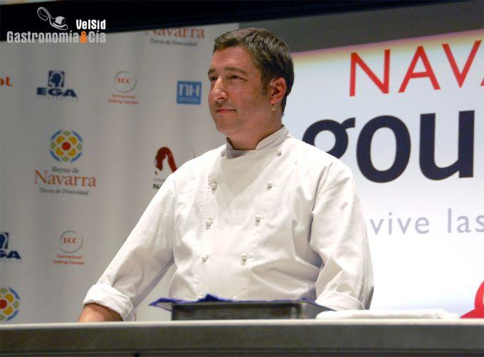 Joan Roca en Navarra Gourmet