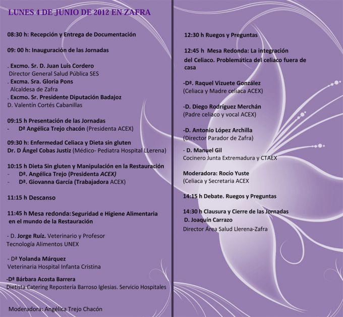 Jornadas Gastronómicas Sin Gluten 2012