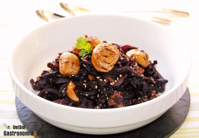 Recetas de col lombarda para guarnici n gastronom a c a for Cocinar col lombarda
