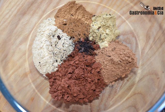 Maca, canela, jengibre y cacao, una rica mezcla de espe
