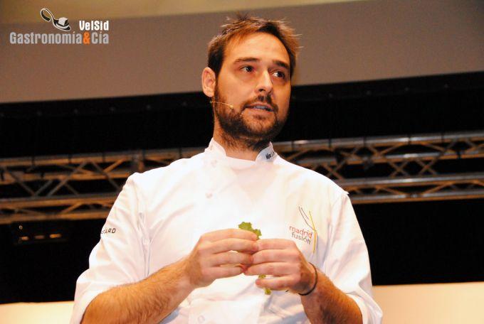 Miguel Ángel de la Cruz en Madrid Fusión 2012