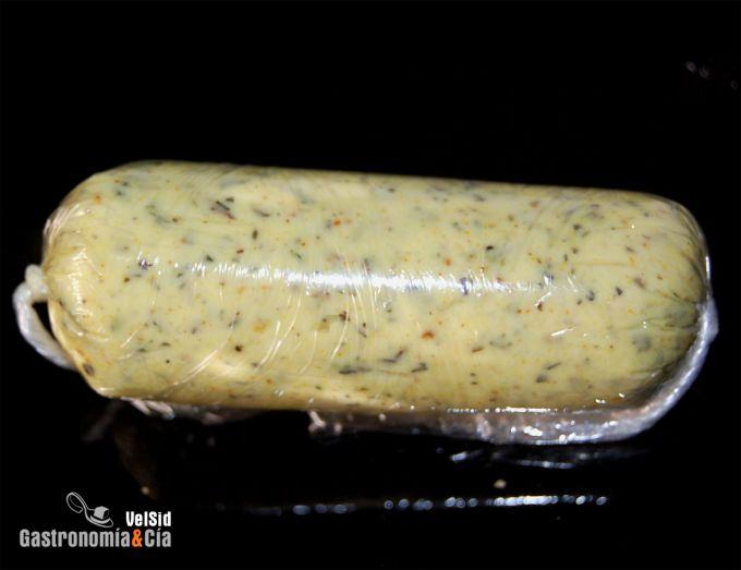 Mantequilla aromatizada