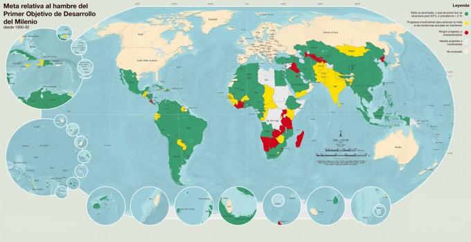 Mapa del Hambre en el Mundo 2014
