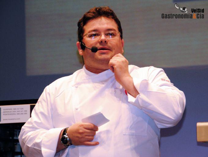 Marcos Morán en el Fórum Santiago 2012