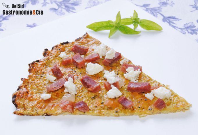 masa se pizza de coliflor