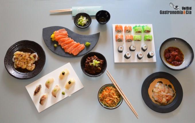Alta cocina japonesa a domicilio