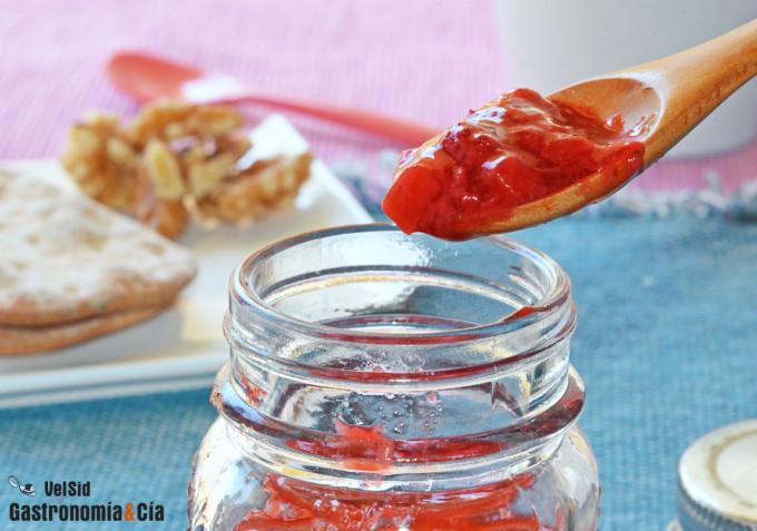 Cómo hacer mermelada de fresas (sin azúcar)